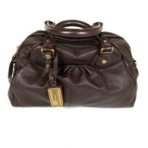 Marc by Marc Jacobs Dr Q Groovee Pleated Satchel